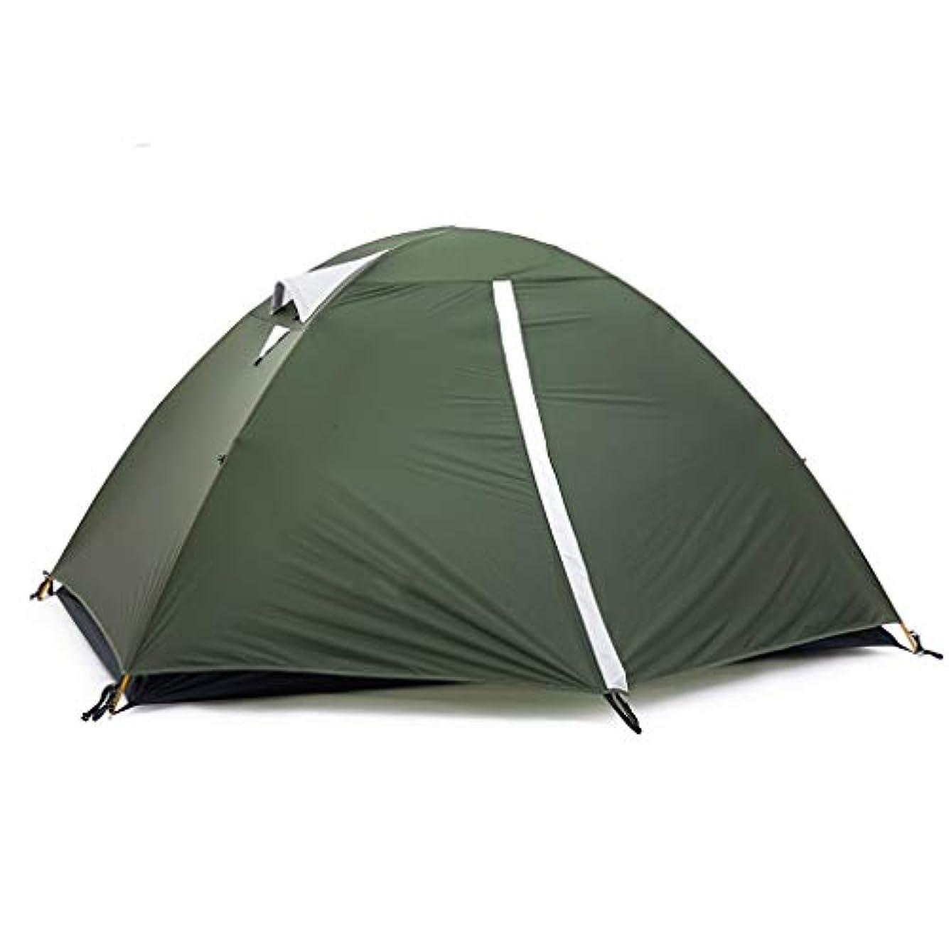 ニュース発生器トロリーYONGFEIhun アウトドアテント、ワイルドマウンテンキャンプキャンプテント、アルミテント大スペース、2人カップル