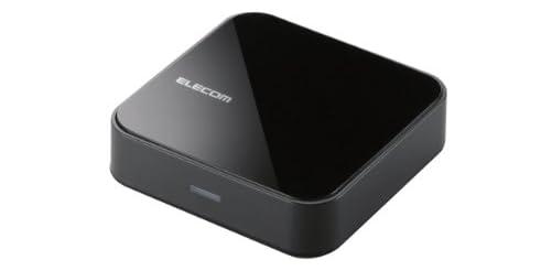 エレコム Bluetooth ブルートゥース オーディオレシーバー 音楽 動画対応 ステレオミニ接続 NFC iPhone android対応 AAC対応 1年間保証 LBT-AVWAR500