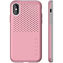Razer Arctech Pro for iPhone Xs Max Case: Thermaphene & Venting Performance Cooling - Wireless Charging Compatible - Drop-Test Certified up to 10 ft - Quartz Pink