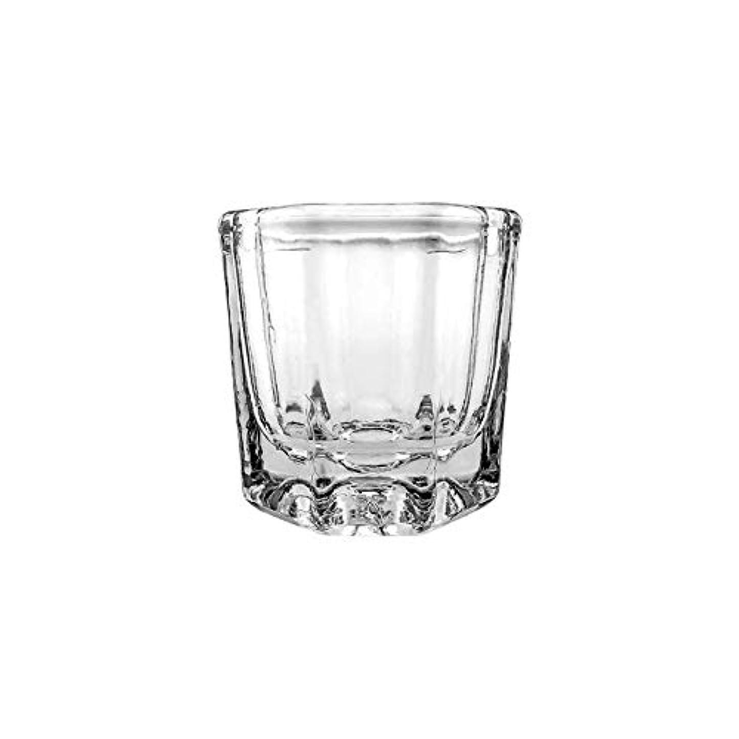 閃光取得する賢いLALONA ダッペンディッシュ (ガラス製) (耐溶剤) ジェルネイル スカルプチュア ブラシの洗浄に