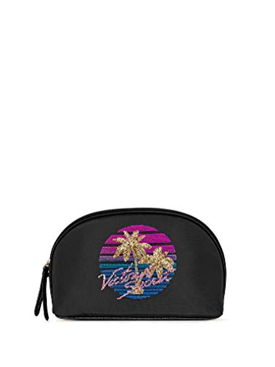 Victoria's Secret ヴィクトリアシークレット VS パームツリー トラベル用 ビッグ 化粧ポーチ