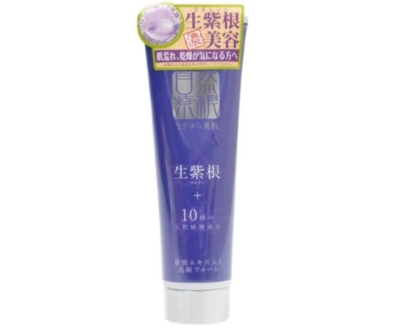 意気消沈したポインタ流体たまゆら美肌 紫の洗顔 150g