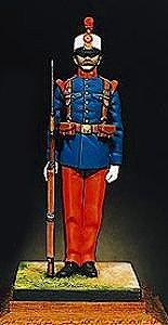 アンドレアミニチュアズ KSE-004 Line Infantryman (Alfonso XIII)