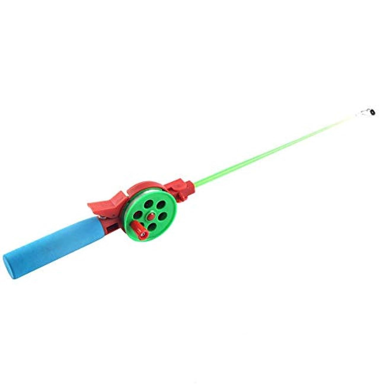 酔ったプロジェクター起業家携帯用屋外の冬の氷釣り棒40cmの極スポーツの釣り道具