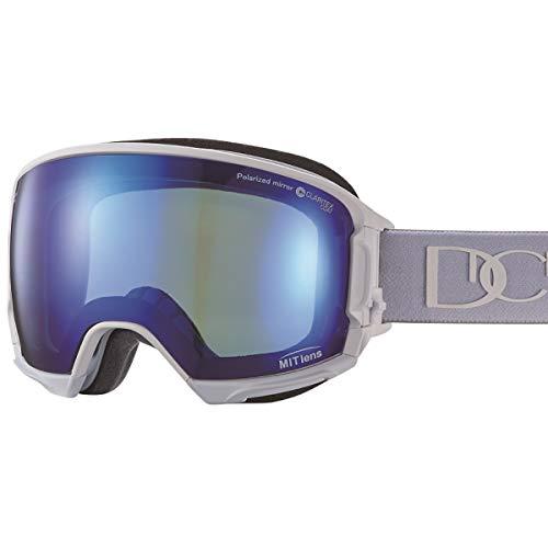 【国産ブランド】DICE(ダイス) スキー スノーボード ゴーグル ハイローラー 剥がれない MITミラー 偏光 プレミアムアンチフォグ HR80893MAW