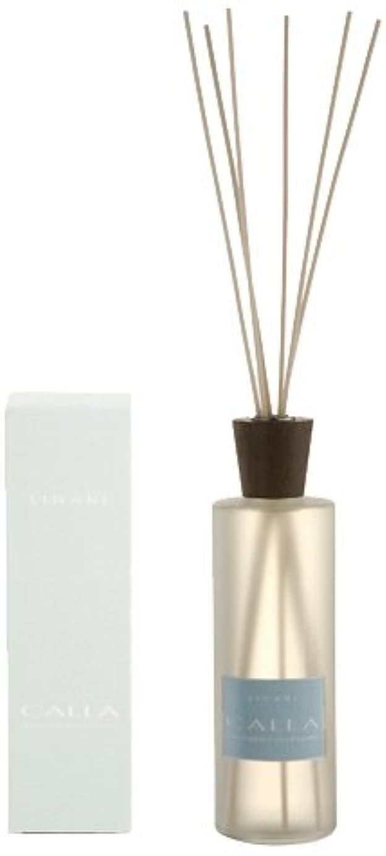 バースト写真知覚するLINARI リナーリ ルームディフューザー 500ml CALLA カラー ナチュラルスティック natural stick room diffuser