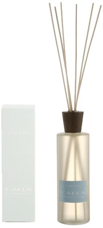 カヌー社会科メドレーLINARI リナーリ ルームディフューザー 500ml CALLA カラー ナチュラルスティック natural stick room diffuser
