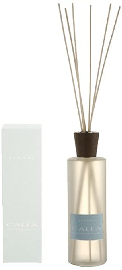 強盗大胆不敵約束するLINARI リナーリ ルームディフューザー 500ml CALLA カラー ナチュラルスティック natural stick room diffuser