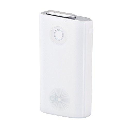 グロー ケース glo シリコンスリーブ グロウ 収納ケース カバー 電子タバコ (クリアホワイト)