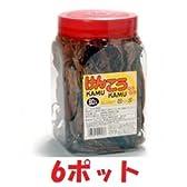 けんこうKAMU KAMU(健康カムカム)よっちゃんいか 30円60本X6ポット