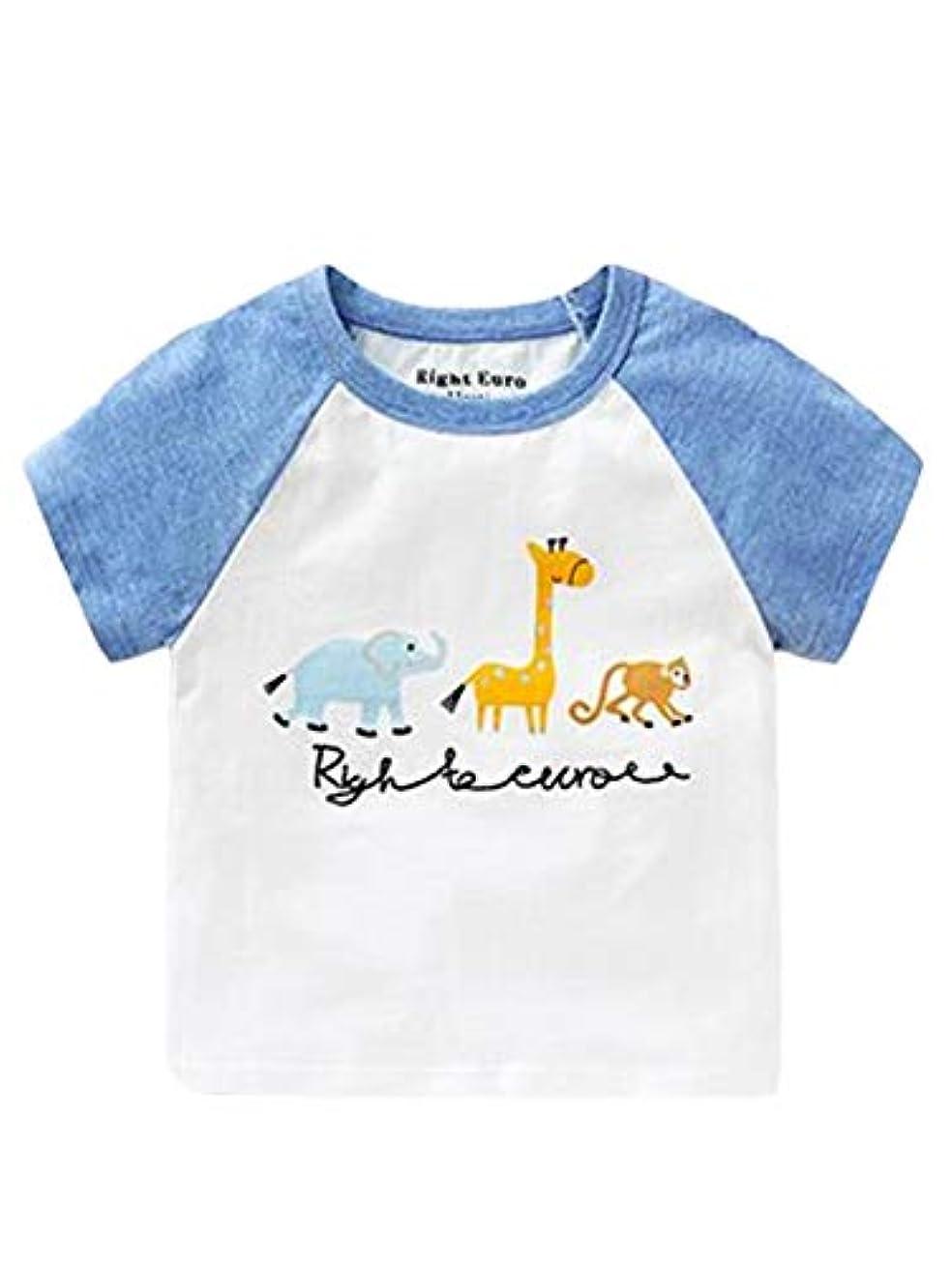 危機妊娠したベスト[ダーセン]ベビー服 子供服 Tシャツ 男の子 半袖 プリント 夏 可愛い パーティー 記念日 プレゼント 写真通りc 100