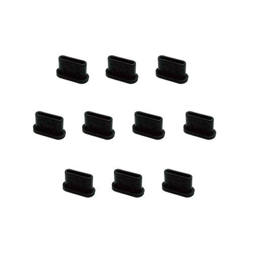 monofive USB3.1 Type-Cポート防塵保護カバー キャップ 10個入り シリコンタイプ MF-TYPEC-C10B