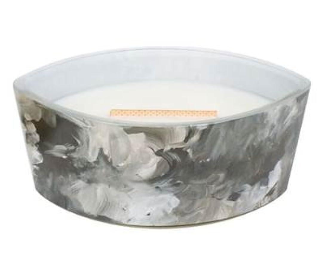警官シャー遺伝的ブラックオレンジCitrus – アーティザンコレクション楕円WoodWick香りつきJar Candle