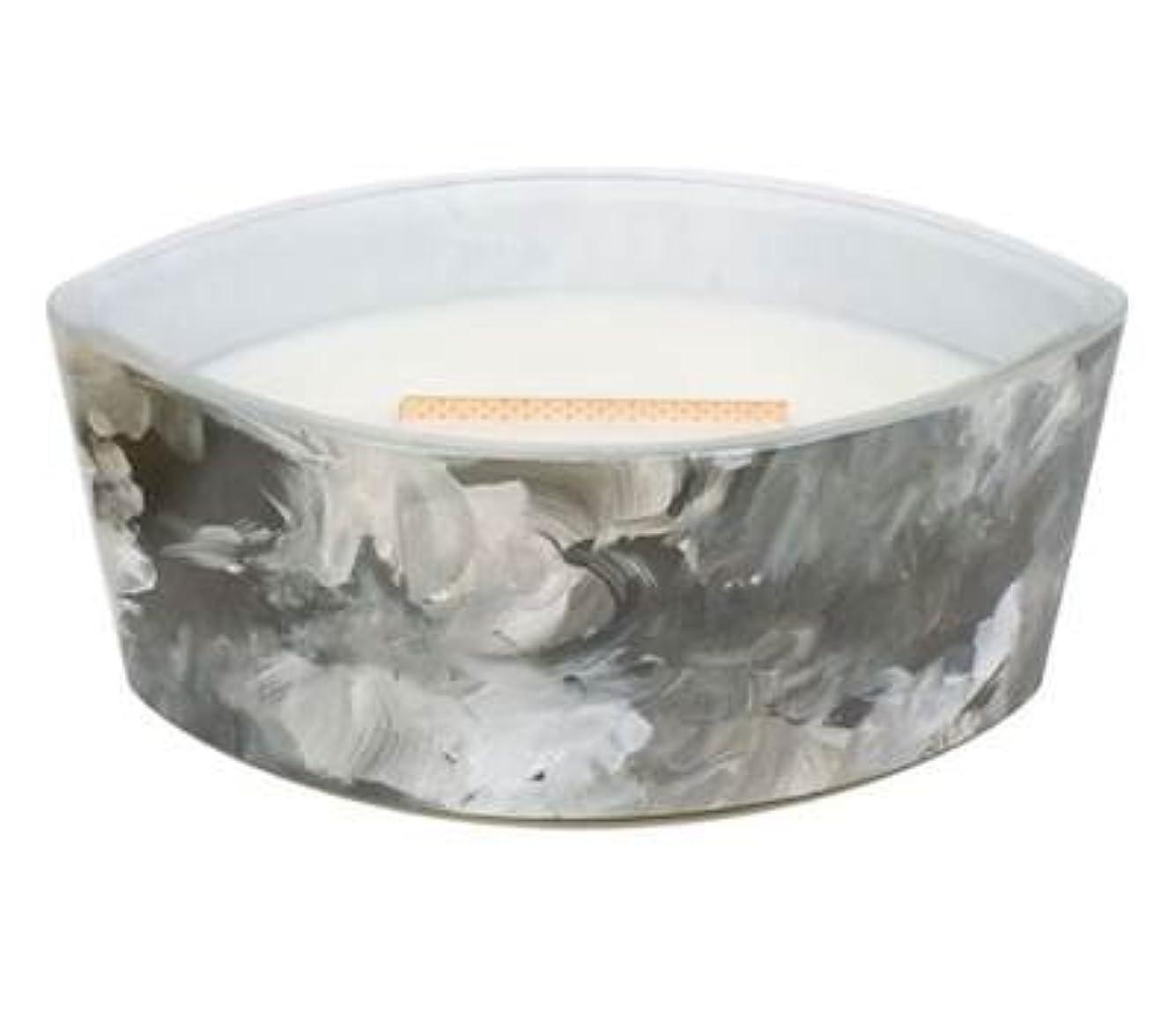 損傷体系的にカプセルブラックオレンジCitrus – アーティザンコレクション楕円WoodWick香りつきJar Candle