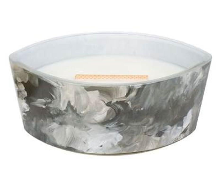 値するオークランド犯罪ブラックオレンジCitrus – アーティザンコレクション楕円WoodWick香りつきJar Candle
