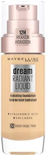 Maybelline Dream Satin Liquid Foundation with Hydrating Serum - Golden Beige 24