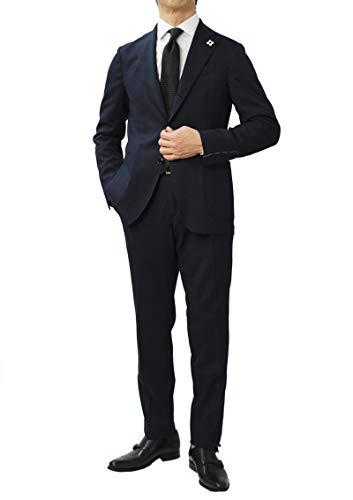 LARDINI ラルディーニ JQ091AQ Easy Wear パッカブル ウール ストレッチ ワンプリーツ スーツ