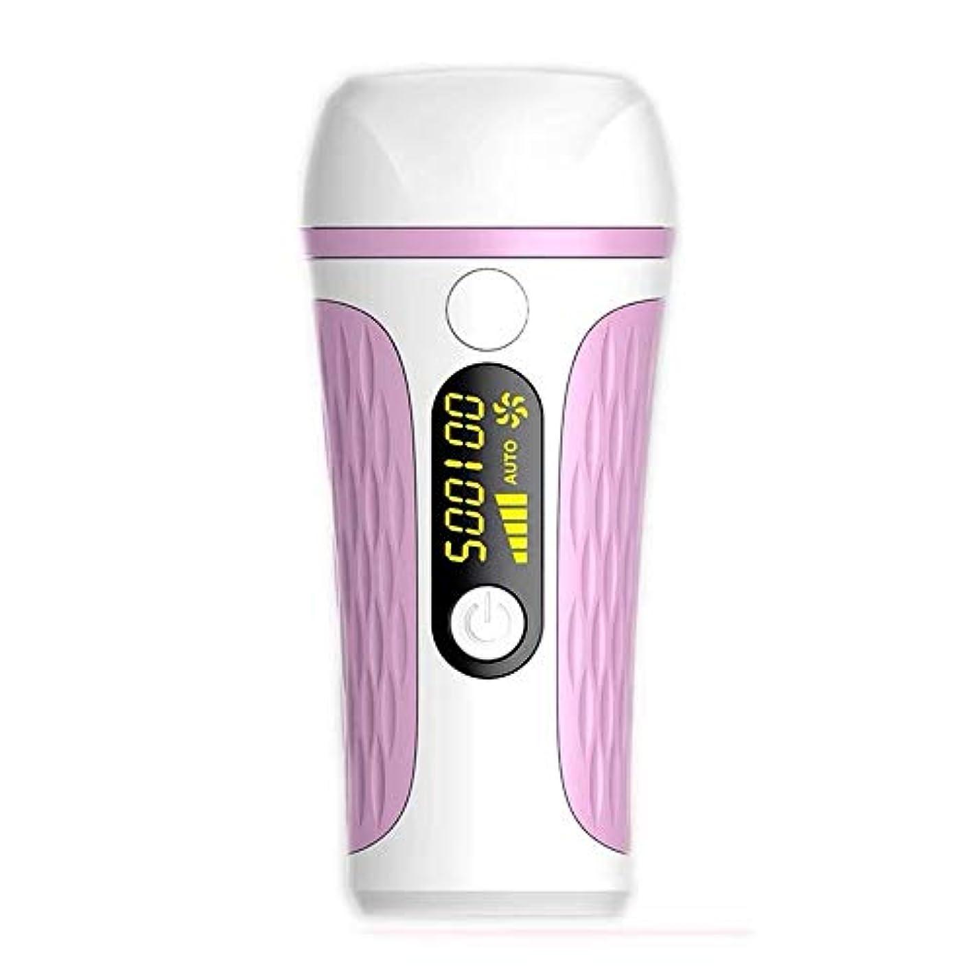 直径異常うん携帯用コールドポイント痛みのない毛の除去剤、自動、手動、2つのモード、LCDディスプレイ、5スピード調整、サイズ14.5 X 6.7 X 19 Cm 髪以外はきれい