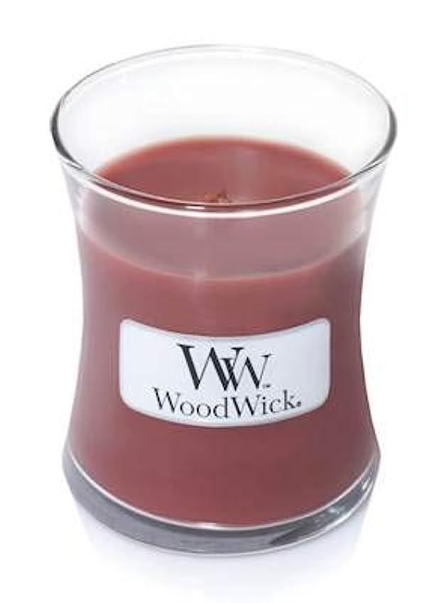 闇意味普通のWoodwick Jar Candle (Small) (Redwood)