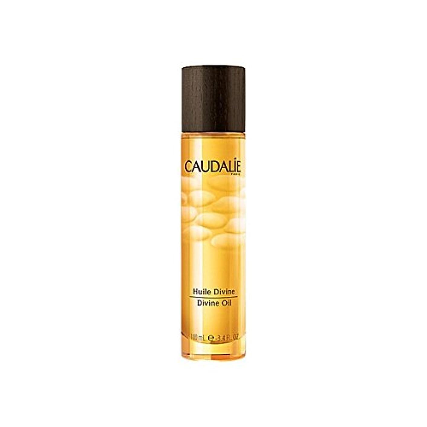 舌舌満州コーダリー神のオイル100ミリリットル x4 - Caudalie Divine Oil 100ml (Pack of 4) [並行輸入品]