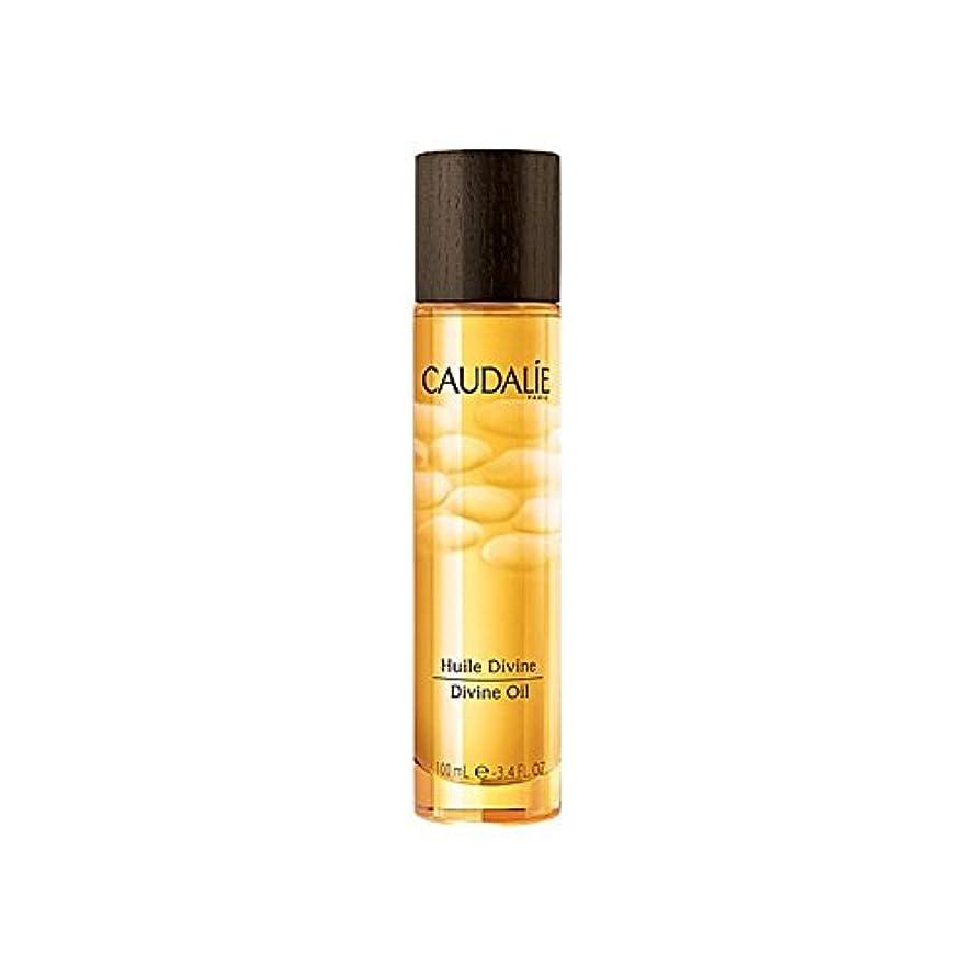 責任一流テクスチャーコーダリー神のオイル100ミリリットル x4 - Caudalie Divine Oil 100ml (Pack of 4) [並行輸入品]