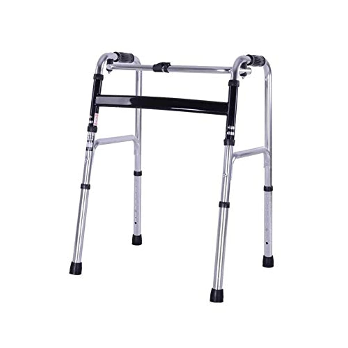 取り扱い星同じ高齢者のための折りたたみ式軽量アルミニウム高さ調節可能な歩行フレームの移動補助具