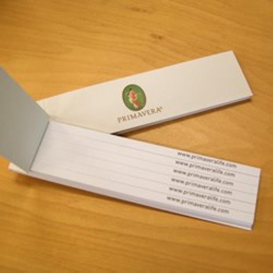 テープうねる量でムイエット(ムエット)紙60片プリマヴェーラ(プリマベラ)「天の香り」