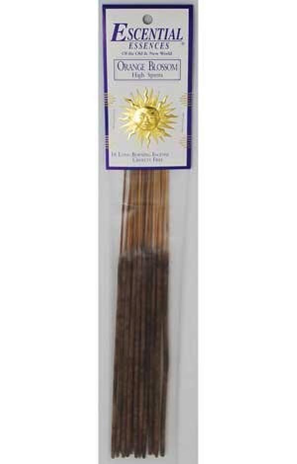 暴力カウンターパート原子Orange Blossom Escential Essences Incense Sticks