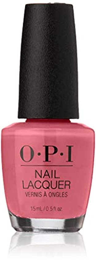 しゃがむメニュー振りかけるOPI Elephantastic Pink Nail Lacquer Classics Collection 15ml