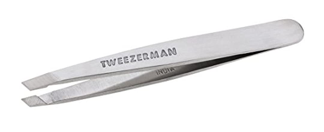 腫瘍接続ツールTweezerman Classic Stainless Steel Mini Slant Tweezer