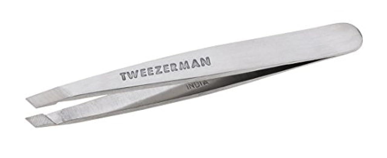 ペンうめきモスクTweezerman Classic Stainless Steel Mini Slant Tweezer