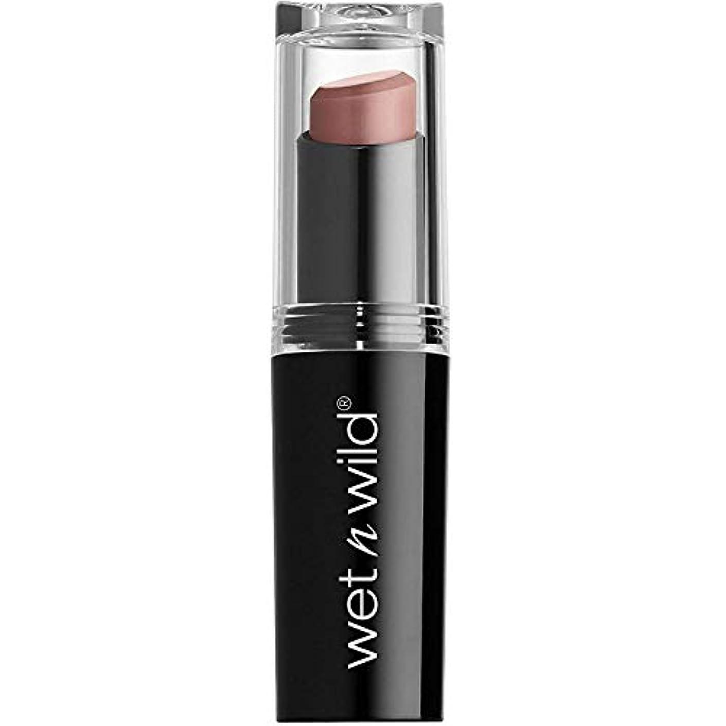 フレキシブル多様なゴールWET N WILD Mega Last Matte Lip Cover - Never Nude (並行輸入品)
