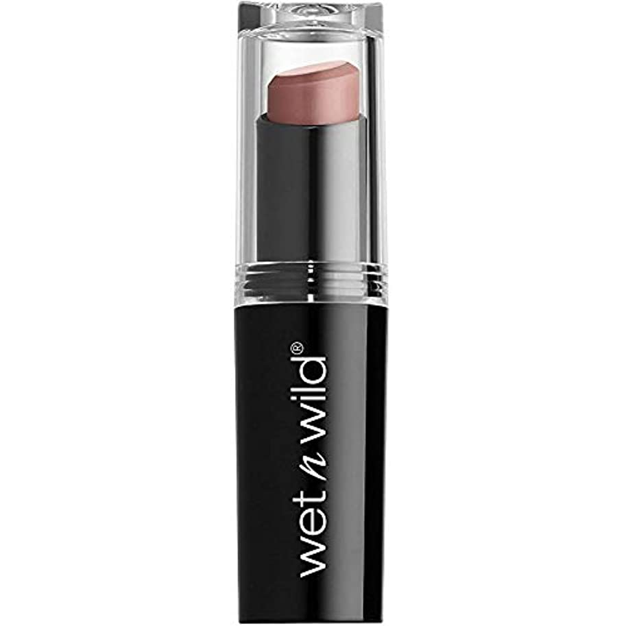 逸脱ハイライト低いWET N WILD Mega Last Matte Lip Cover - Never Nude (並行輸入品)