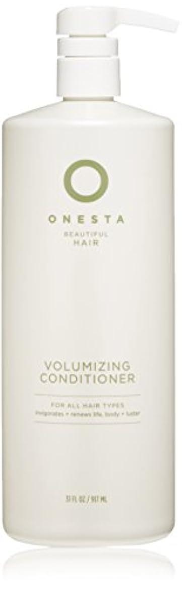 ぞっとするような発信口述Onesta Hair Care Onestaボリュームアップコンディショナー、31液量オンス 31オンス