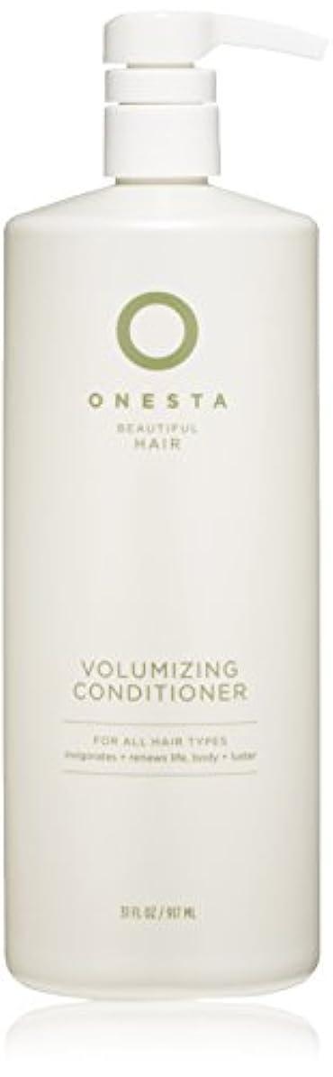 槍契約した請求書Onesta Hair Care Onestaボリュームアップコンディショナー、31液量オンス 31オンス