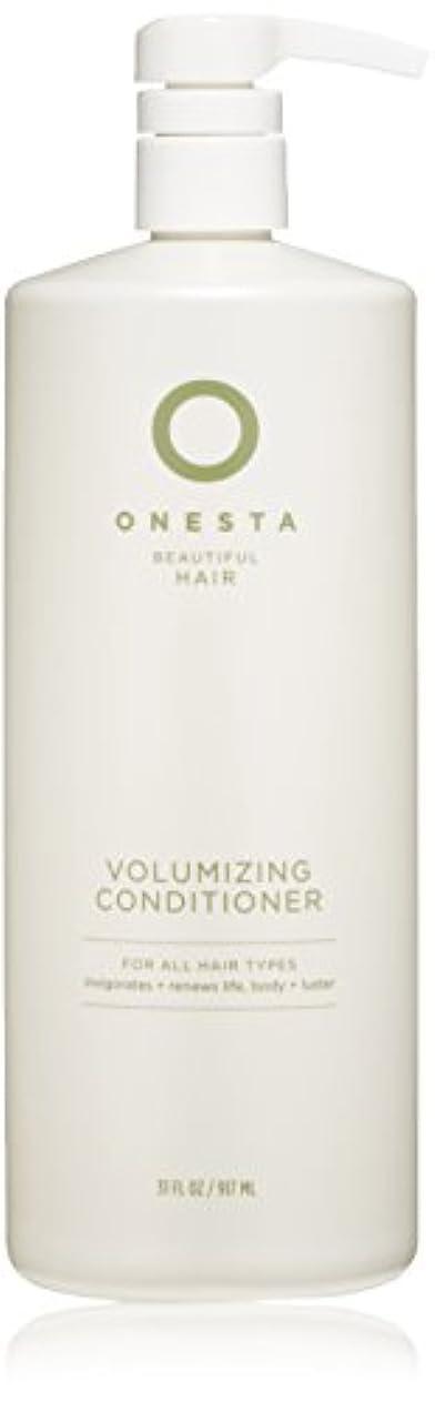 別にすべき出演者Onesta Hair Care Onestaボリュームアップコンディショナー、31液量オンス 31オンス