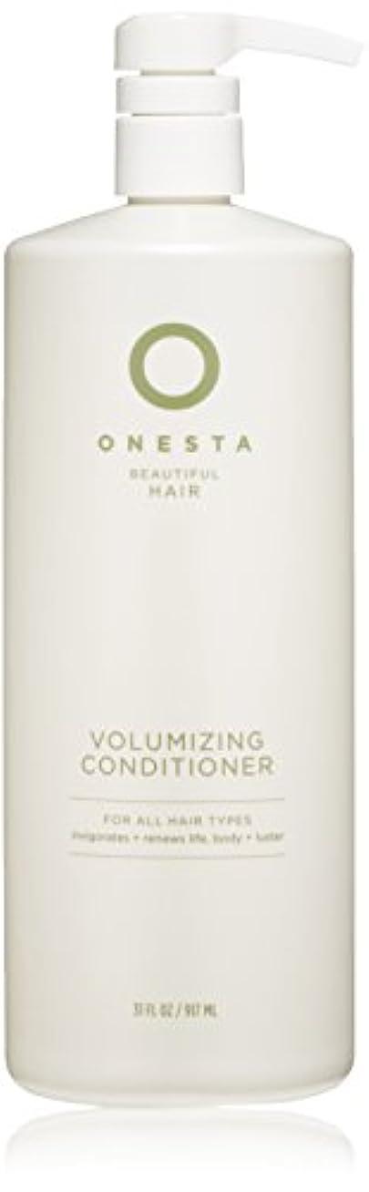 動詞起きているストラップOnesta Hair Care Onestaボリュームアップコンディショナー、31液量オンス 31オンス