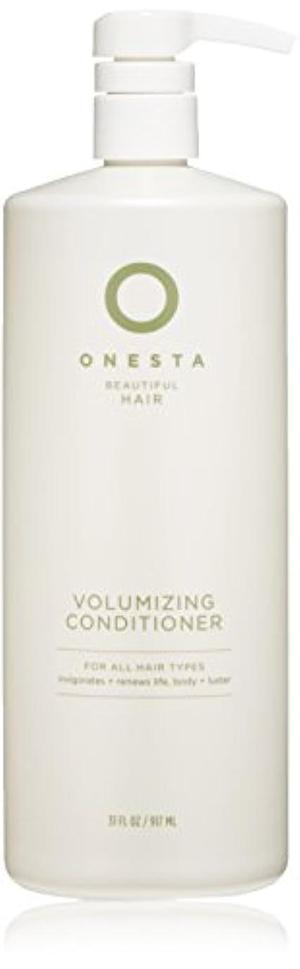 曲がったアウターなすOnesta Hair Care Onestaボリュームアップコンディショナー、31液量オンス 31オンス