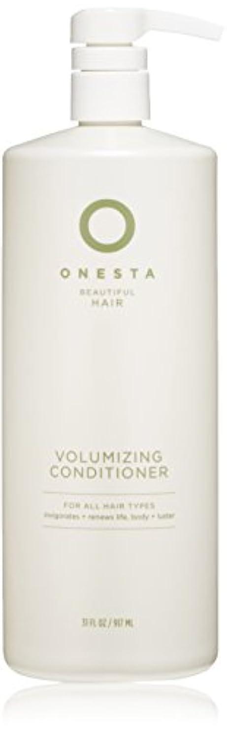 より多い災害みOnesta Hair Care Onestaボリュームアップコンディショナー、31液量オンス 31オンス