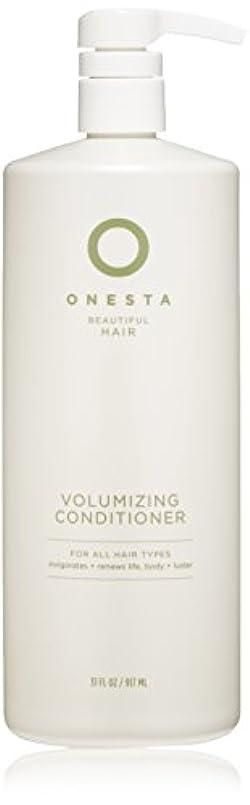 提供するなす粘液Onesta Hair Care Onestaボリュームアップコンディショナー、31液量オンス 31オンス