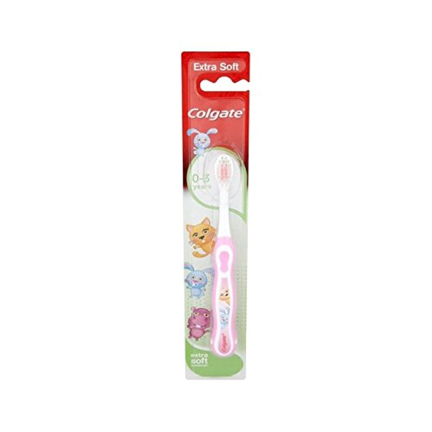 笑顔0-3歯ブラシ (Colgate) - Colgate Smiles 0-3 Toothbrush [並行輸入品]