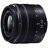 Panasonic マイクロフォーサーズ用 交換レンズ LUMIX G VARIO 14-42mm F3.5-5.6ⅡASPH. MEGA O.I.S. ブラック H-FS1442A-KA