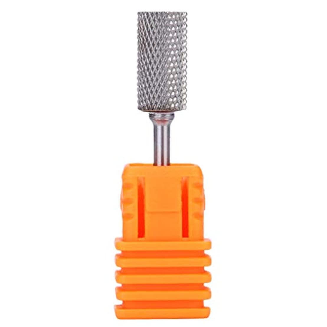 ディスパッチアスリート安全なMinkissy ネイルドリルビットセットタングステン鋼ネイルドリルビットマニキュアマニキュア用ネイルポリッシュチップネイルアートツール(m)
