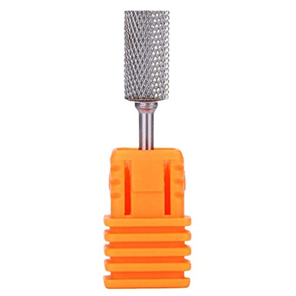無線立ち向かう起きているMinkissy ネイルドリルビットセットタングステン鋼ネイルドリルビットマニキュアマニキュア用ネイルポリッシュチップネイルアートツール(m)