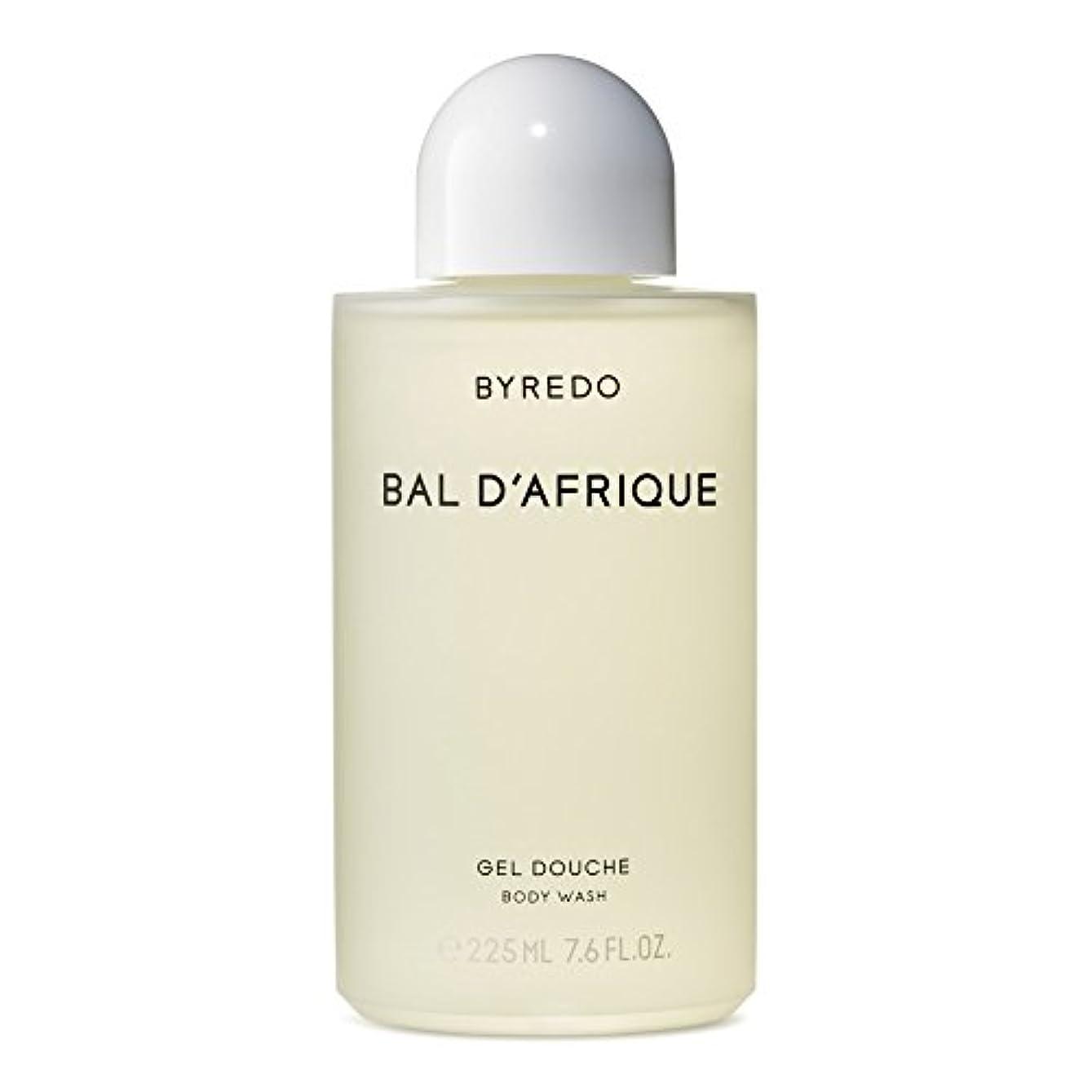 チョコレートトラフ審判のボディウォッシュ225ミリリットル x4 - Byredo Bal d'Afrique Body Wash 225ml (Pack of 4) [並行輸入品]