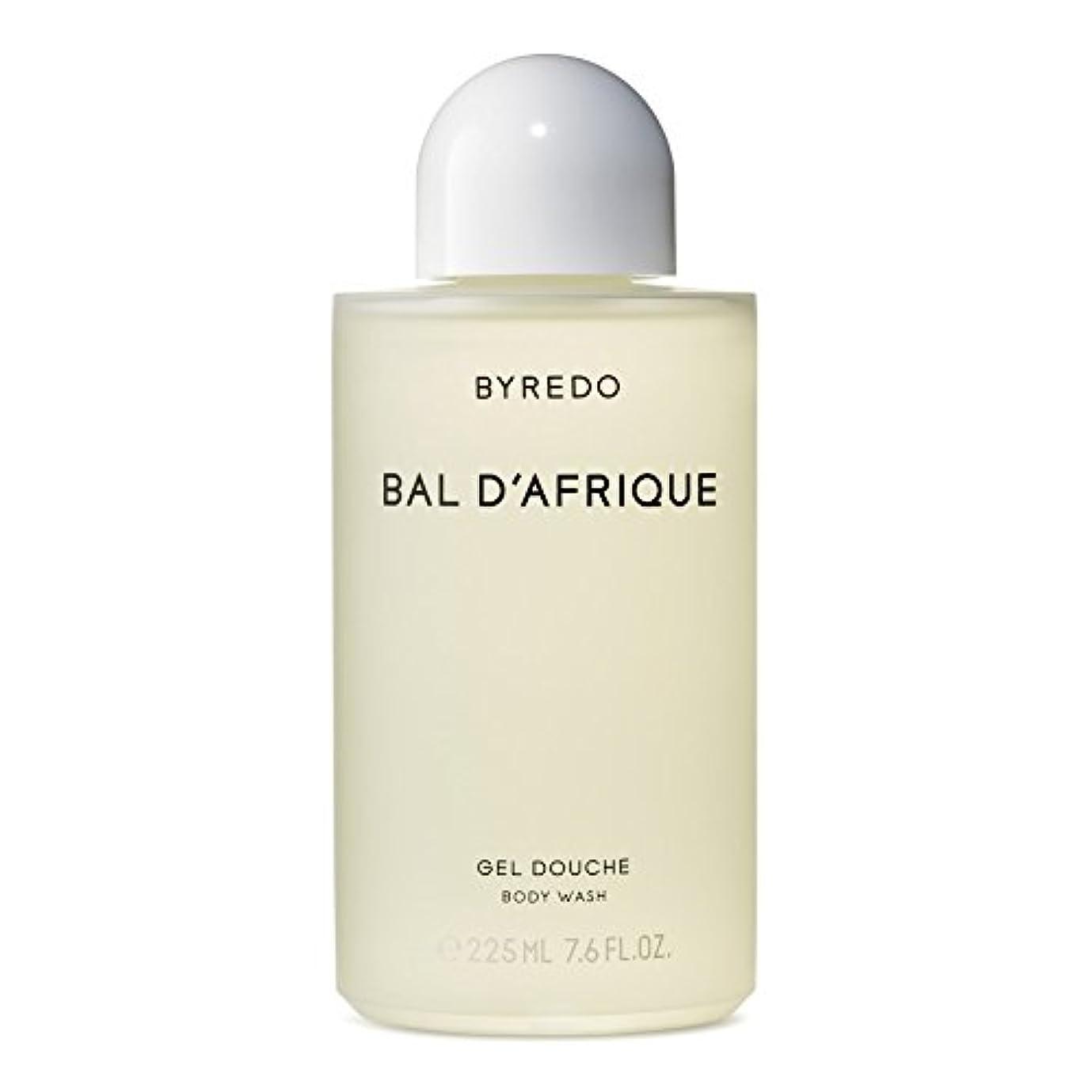 書くラベル天才のボディウォッシュ225ミリリットル x4 - Byredo Bal d'Afrique Body Wash 225ml (Pack of 4) [並行輸入品]