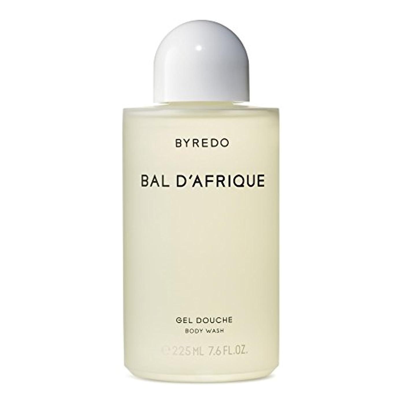 最終的に大きなスケールで見ると彫刻家Byredo Bal d'Afrique Body Wash 225ml (Pack of 6) - 'のボディウォッシュ225ミリリットル x6 [並行輸入品]