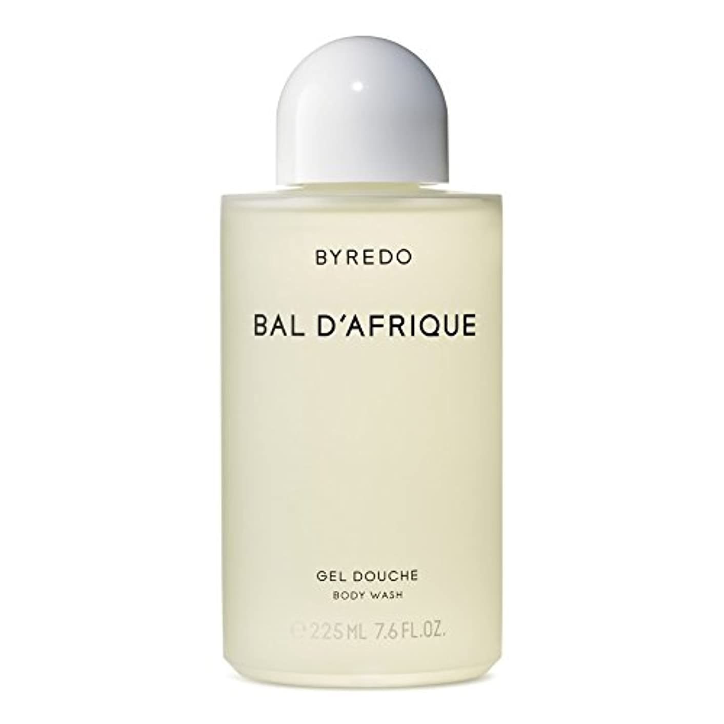 便益敬意を表する抱擁Byredo Bal d'Afrique Body Wash 225ml - 'のボディウォッシュ225ミリリットル [並行輸入品]