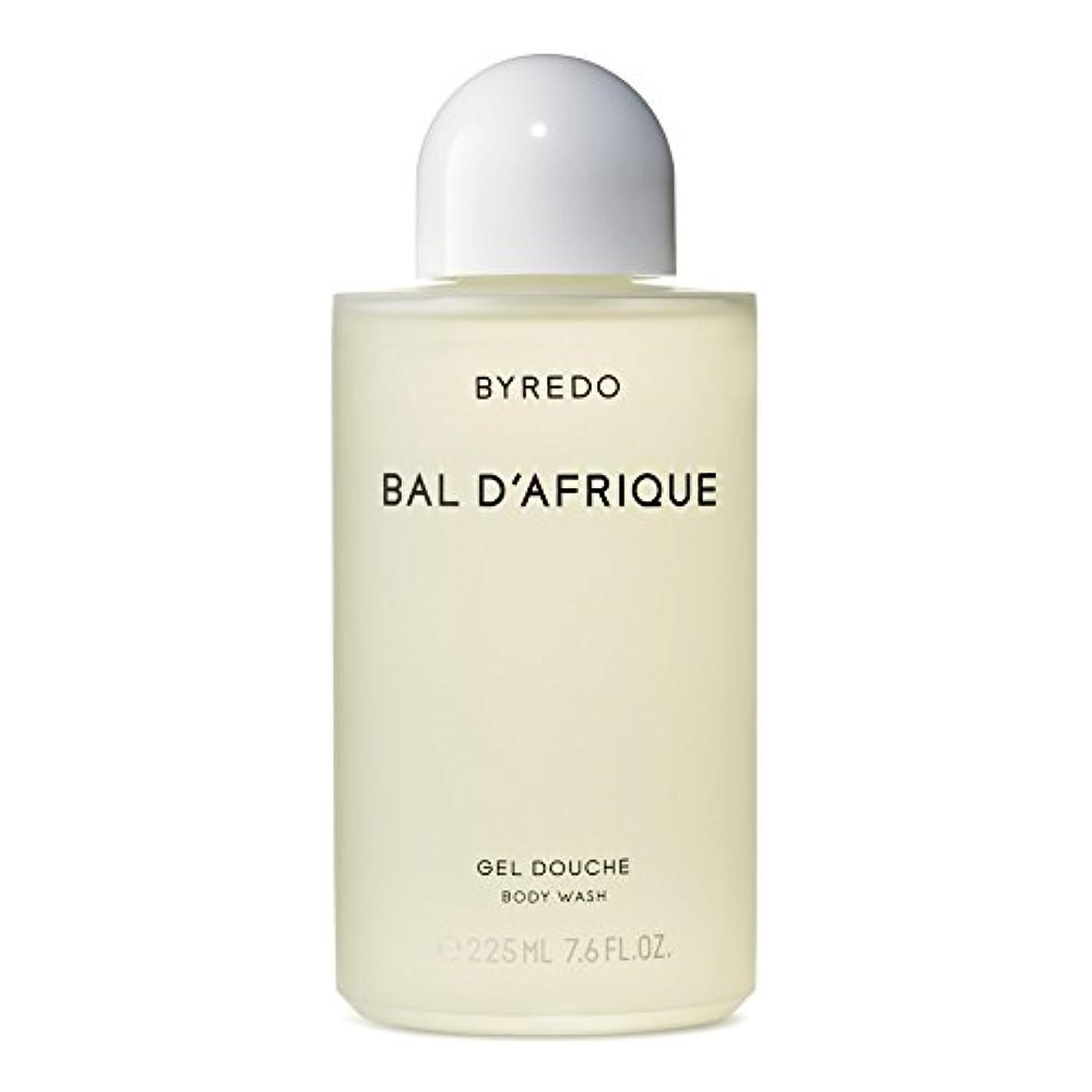 入学するピューフォルダ'のボディウォッシュ225ミリリットル x2 - Byredo Bal d'Afrique Body Wash 225ml (Pack of 2) [並行輸入品]