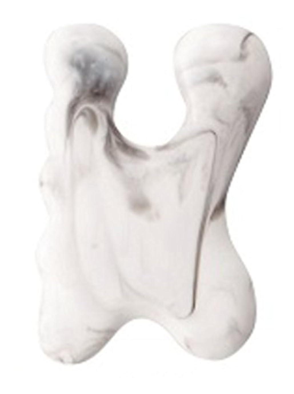 教育学識別ハンディカッサプレート マッサージプレート 顔 目元 眉間 手足のツボ 腕 首 特殊な形状がお肌にフィット